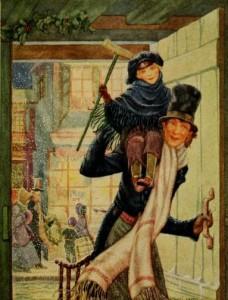 Charles Dickens – A Christmas Carol, ilustración de Hazel Frazee (1922)