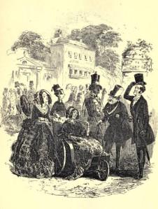 Charles Dickens – Dombey and son, ilustración de Phiz (1896)
