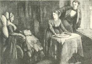 Charles Dickens – Little Dorrit, ilustración de J. Mahoney (189?)