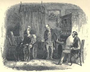 Charles Dickens – Little Dorrit, ilustración de Phiz (185?)