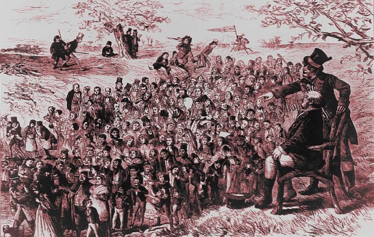 Los personajes de los libros de Charles Dickens, grabado anónimo del S.XIX