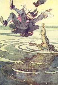 James Matthew Barrie – Peter Pan, ilustración de Alice B. Woodward (1911)