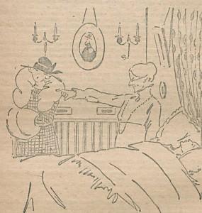 Paul de Garros – Le Cœur incertain (1918)