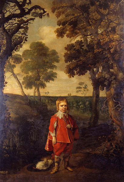 Daniël Mitjens - Jeffrey Hudson in the woods (1628-1630)
