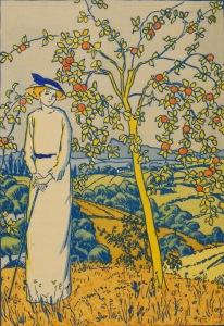 Francis Jammes – Pomme d'anis, ilustración de Henri Georget (1914)