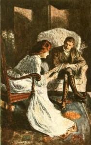Rudyard Kipling - «They», ilustración de F.H. Townsend (1905)