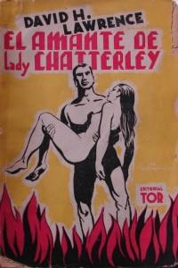 D.H. Lawrence – El Amante de Lady Chatterley, edición argentina de 1939