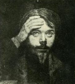 Léon Bloy, autorretrato a los 19 años