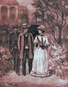 Guy de Maupassant - L'Infirme, illustración de 1891