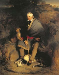Edwin Henry Landseer - Sir Walter Scott in the Rhymer's Glen (S. XIX)