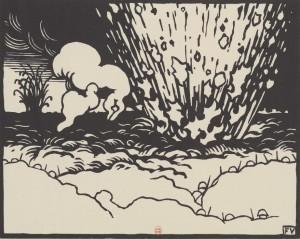 Félix Vallotton – La Tranchée (C'est la guerre), 1916