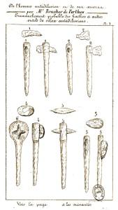 Jacques Boucher de Perthes - De l'Homme antédiluvien et de ses œuvres (1860)