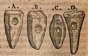 Conrad Gessner - De Omni rerum fossilium (1565)