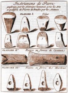 Nicolas Mahudel - Sur les prétendues pierres de foudre (1730)