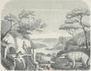 Pierre Boitard – Paris avant les hommes (1861)