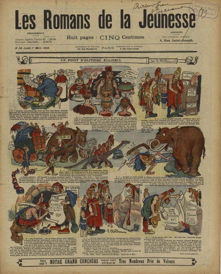 A. Blondeau - Un point d'histoire éclairci (1909)