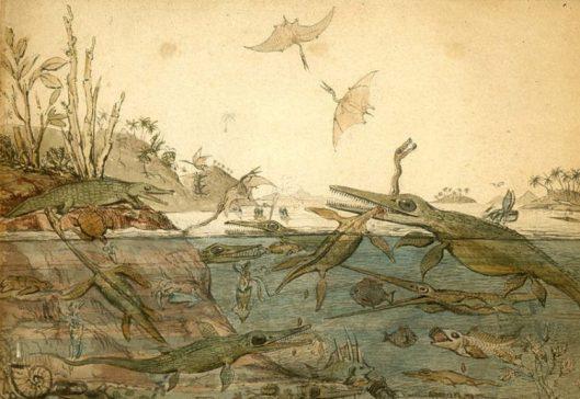 Henry de la Beche - Duria Antiquior (1830)