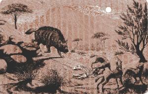 Léonie Meunier - Misère et grandeur de l'humanité primitive, ilustración de Frédéric Massé (1889)