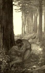 Gouverneur Morris – The Pagan's Progress, ilustración de John Rae (1904)