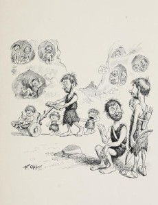 Frederick Burr Opper - Our Antediluvian Ancestors (1903)