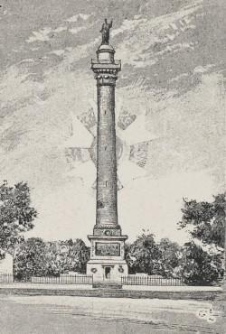 Colonne de la Grande Armée, Boulogne sur Mer (1893-1894) – Monumento elevado en 1804 en homenaje a las tropas napoleónicas y realizado con mármol de las canteras de Marquise
