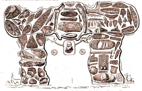 Georges Renard – Le Travail préhistorique (1931), La Ciencia prehistórica, homenaje a Gabriel de Mortillet