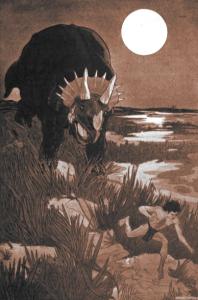 Frederick Hankerson Costello – Sure-Dart, ilustración de Walter J. Enright (1909)