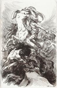 André Lichtenberger – Les Centaures, ilustración de Victor Prouvé (1924)