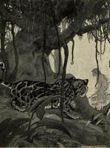 Charles H. Robinson – Longhead, ilustración de Charles Livinston Bull (1913)