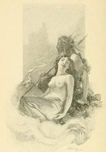 J.H. Rosny – Elem d'Asie, ilustración de Mittis (1896)