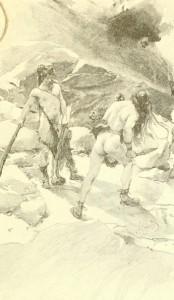 J.H. Rosny – Eyrimah, ilustración de Marold y Gambard (1893)