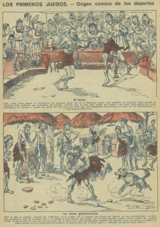 A.M. - Los Primeros Juegos: origen cómico de los deportes (1929)