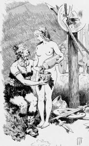 Rougeron-Vignerot - Amours militaires à travers les âges (1892) - Rougeron-Vignerot (18?-18?) fue un grabador francés, especialista de iconografía militar