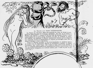 Lucien Métivet - La Traite des blanches (1902) - Lucien Métivet (1863-1932) fue un pintor, ilustrador y cartelista francés