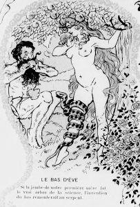 Lubin de Beauvais - Les Bas à travers les âges (1907) - Lubin de Beauvais (1873-1917) fue un pintor e ilustrador francés