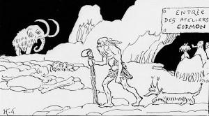 H.A. - Le Footing à l'âge de pierre (1912)