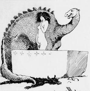 Georges Léonnec - L'Histoire galante : Le Chapitre des baignoires (1912) - Georges Léonnec (1881-1940) fue un ilustrador francés, sobre todo recordado por sus dibujos eróticos en «La Vie parisienne»