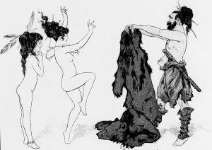 Chéri Hérouard - La Mode à rebrousse-poil : fantaisie sur l'histoire des fourrures (1913)