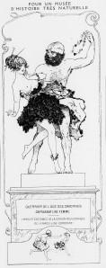 Chéri Hérouard - Guerrier de l'âge des cavernes capturant une femme (1916)