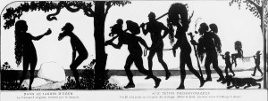 Zyg Brunner - Les Transports à travers les âges (1917) - Zyg Brunner (1878-1961) fue un pintor, ilustrador y caricaturista polaco