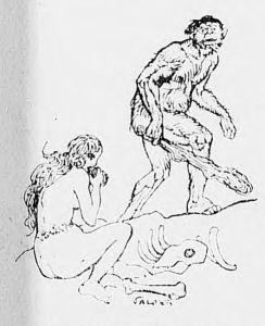 Vald'Es - Véritable Généalogie de M. Joseph Durant, bourgeois de Paris (1918) - Vald'Es es el pseudónimo del pintor e ilustrador Louis Denis-Valvérane (1870-1943)