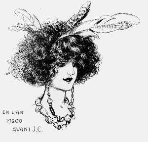 Chéri Hérouard - La Coiffure à travers les âges (1920) - Chéri Hérouard (1881-1961) fue un ilustrador de los siglos XIX y XX. Bajo el pseudónimo de Heric, realizó dibujos eróticos y sado-masoquistas.