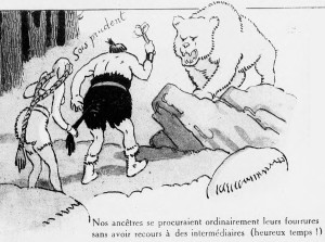 Henri Avelot - De l'ours des cavernes au chat de gouttières : vue à rebrousse-poil de l'histoire des fourrures (1922) - Henri Avelot (1873-1935) fue un pintor, ilustrador y humorista francés