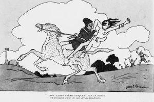 Joseph Hémard - L'Art et la manière de conquérir les femmes (1923) - Joseph Hémard (1880-1961) fue un dibujante e ilustrador francés