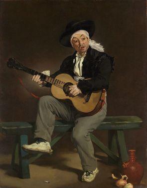 Édouard Manet - Le Chanteur espagnol (1860)