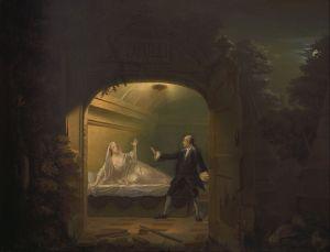 Benjamin Wilson – David Garrick y George Anne Bellamy en «Romeo y Julieta»