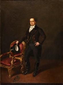 Manuel Cabral y Aguado Bejarano – El actor Julián Romea, en el papel de Sullivan (1853)