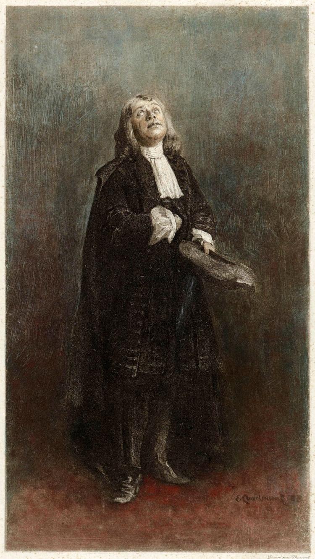 Charlemont - El actor Coquelin aîné, caracterizado como Tartufo (1889)
