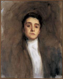 Eleanora Duse, por John Singer Sargent (ca. 1893)