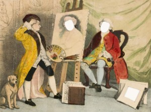Hiram Stead, R. Evan Sly - Garrick y Hogarth, o El Artista confundido